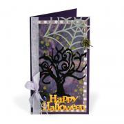 Happy Halloween Spooky Tree Card