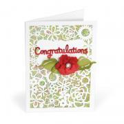 Congratulations Flower Card