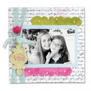 Simply You Scrapbook Page
