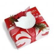 Embossed Bird Gift Topper