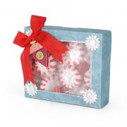 Peppermint Candy Shadow Box