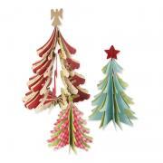 3-D Christmas Trees
