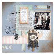 Wedding Scrapbook Page #2