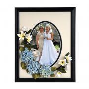 Hydrangea & Stephanotis Wedding Frame