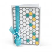 Hexagon Hello Sunshine Card