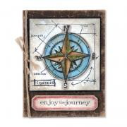 Enjoy the Journey Compass Card