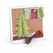 3-D Christmas Tree Card #2