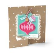 Merry Christmas Ornaments Flip-its Card