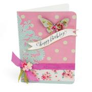 Happy Birthday Butterfly Card #7