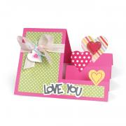 Love You Heart Step-Ups Card