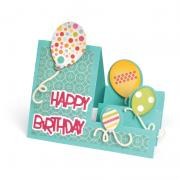 Birthday Balloons Step-Ups Card