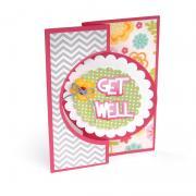Get Well Circle Flip-its Card