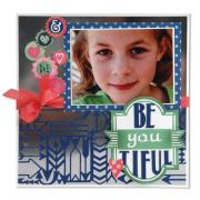 Be-You-Tiful Scrapbook Page