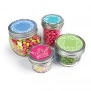Embossed Fancy Jar Lids