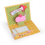 Cute as a Cupcake Pop-Up Card