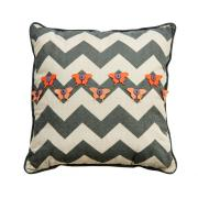 Chevron & Butterflies Cushion
