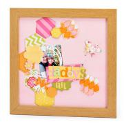 Daddy's Girl Framed Layout