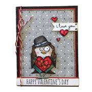 Happy Valentine's Day Bird Card