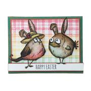 Happy Easter Bird/Bunny Card