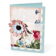 Tattered Flowers Forever Friend Card