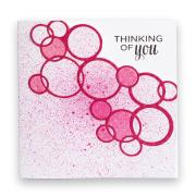 Bright Bubbles Thinking of You Card