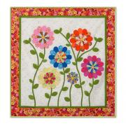 Dresden Flowers at Victoria's Manor Wall Hanging