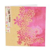 Drifting Daisy Birthday Card