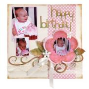 Happy Birthday, Baby! Scrapbook Page