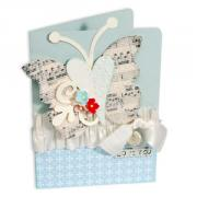 Love You Heart Butterfly Card