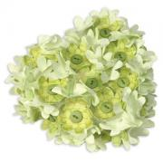 Heart-Shaped Flower Wreath