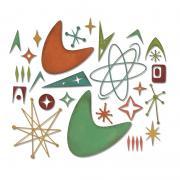 Sizzix Thinlits Die Set 25PK - Atomic Elements