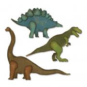 Sizzix Thinlits Die Set 3PK - Prehistoric