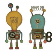 Sizzix Thinlits Die Set 14PK - Robotic