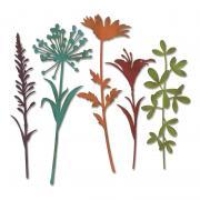 Sizzix Thinlits Die Set 5PK - Wildflower Stems #2