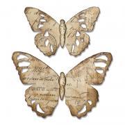 Sizzix Bigz Die - Tattered Butterfly