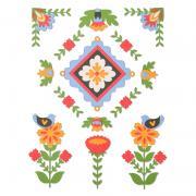 Sizzix Thinlits Die Set 18PK - Folk Art Elements