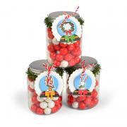 Snow Globe Treat Tags
