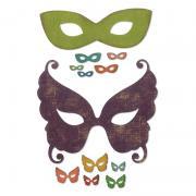 Sizzix Thinlits Die Set 12PK – Masquerade
