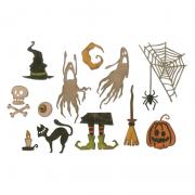 Sizzix Thinlits Die Set 17PK - Frightful Things