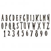 Sizzix Bigz XL Alphabet Die – Handmade