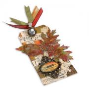 Journey Leaves Tag
