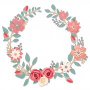 Sizzix Thinlits Die Set 6PK - Wedding Wreath