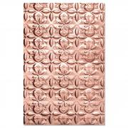 Sizzix 3-D Textured Impressions Embossing Folder - Adorned Tile