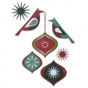 Sizzix Thinlits Die Set 10PK - Ornamental Birds by Tim Holtz