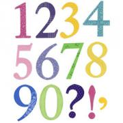 Sizzix Bigz Alphabet Set 5 Dies - Sassy Serif Numbers