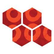 """Sizzix Bigz Die - Hexagons, 1 1/4"""" Sides"""