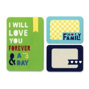 Sizzix Thinlits Die Set 4PK - Forever & a Day
