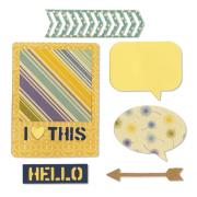 Sizzix Thinlits Die Set 6PK - I Heart This