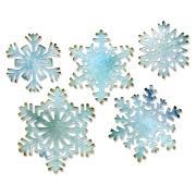 Sizzix Thinlits Die Set 5PK - Paper Snowflakes