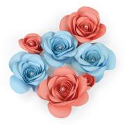 Sizzix Thinlits Plus Die - Love Birds 3-D Floral #2